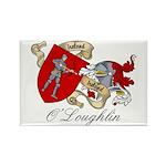 O'Loughlin Family Shield Rectangle Magnet