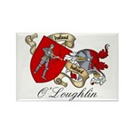 O'Loughlin Family Shield Rectangle Magnet (100 pac