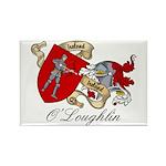 O'Loughlin Family Shield Rectangle Magnet (10 pack