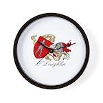 O'Loughlin Family Shield Wall Clock