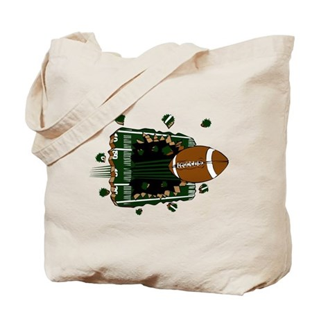 FOOTBALL *24* {green} Tote Bag