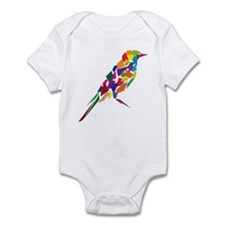 Abstract Bird Infant Bodysuit