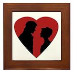 Jane Austen PP3 Framed Tile