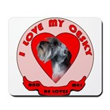 Cesky terrier Love Mousepad