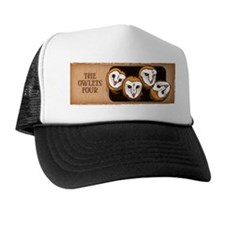 Design 3: The Owlets Trucker Hat