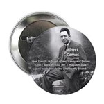 Albert Camus Philosophy Quote Button