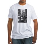 Albert Camus Philosophy Quote Fitted T-Shirt