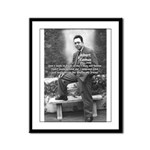 Albert Camus Philosophy Quote Framed Panel Print