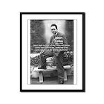 Albert Camus Philosophy Quote Framed Panel Print