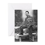Albert Camus Philosophy Quote Greeting Cards (Pack