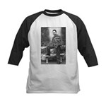 Albert Camus Philosophy Quote Kids Baseball Jersey