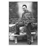 Albert Camus Philosophy Quote Large Poster