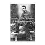 Albert Camus Philosophy Quote Mini Poster Print