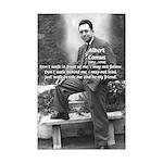 Albert Camus Philosophy Quote Mini Poster Print