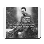 Albert Camus Philosophy Quote Mousepad