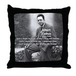 Albert Camus Philosophy Quote Throw Pillow