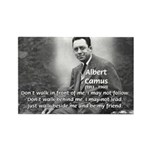 Albert Camus Philosophy Quote Rectangle Magnet