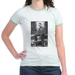 Albert Camus Philosophy Quote Jr. Ringer T-Shirt