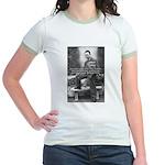 Albert Camus Philosophy Quote Jr. Ringer T-Shirt