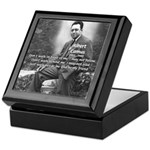 Albert Camus Philosophy Quote Keepsake Box
