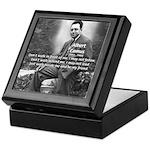 Albert Camus Philosophy Quote Keepsake Box