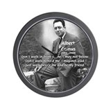 Albert Camus Philosophy Quote Wall Clock