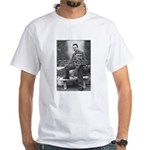 Albert Camus Philosophy Quote White T-Shirt