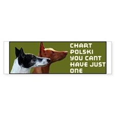 Chart Polski two Bumper Bumper Sticker
