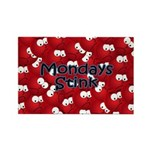 Mondays Stink Rectangle Magnet