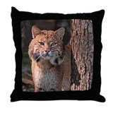 Maine Bobcat 2 Throw Pillow