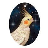 Cockatiel Ornament (Oval)