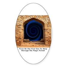 Magic Portal Oval Decal