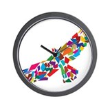 Bird in Flight Wall Clock