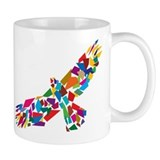 Bird in Flight Small Mug
