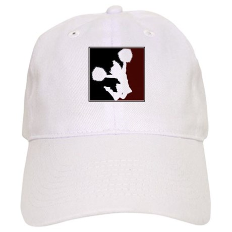 CHEER *11* {crimson/black/whi Cap