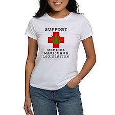 Support Medical Marijuana Legislation Tee