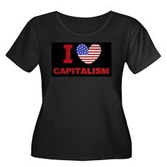 I Love Capitalism Women's Plus Size Scoop Neck Dar