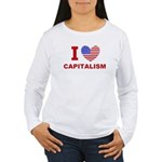 I Love Capitalism Women's Long Sleeve T-Shirt