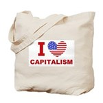 I Love Capitalism Tote Bag