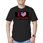 I Love Capitalism Men's Fitted T-Shirt (dark)