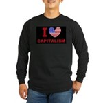 I Love Capitalism Long Sleeve Dark T-Shirt