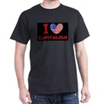 I Love Capitalism Dark T-Shirt