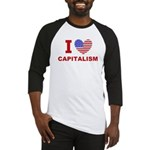 I Love Capitalism Baseball Jersey