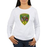 Hancock County Sheriff Women's Long Sleeve T-Shirt