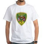 Hancock County Sheriff White T-Shirt