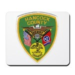 Hancock County Sheriff Mousepad