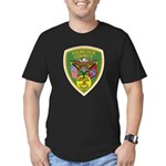 Hancock County Sheriff Men's Fitted T-Shirt (dark)