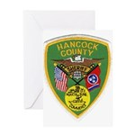 Hancock County Sheriff Greeting Card