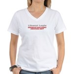 Liberal Logic Women's V-Neck T-Shirt