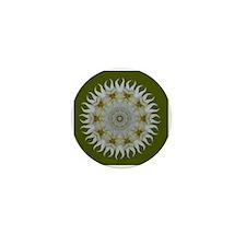 Orchid Sunray Mini Button